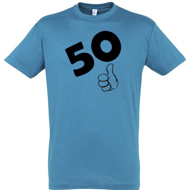 50. születésnapra OKÉ póló
