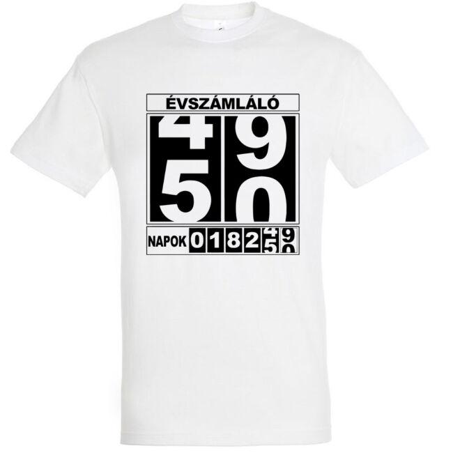 Póló 50. születésnapra