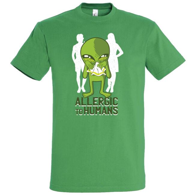 Vannak olyan idegenek, akik allergiásak az emberekre. Ebben az esetben adj neki egy zsebkendőt.