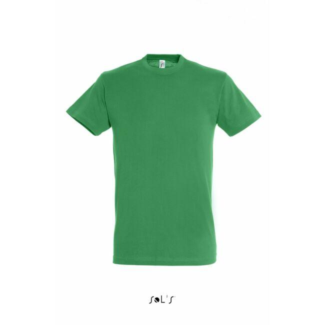 Sol's Regent Unisex környakas póló kelly green