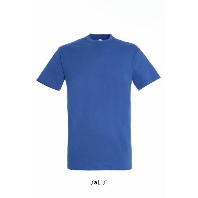 Sol's Regent Unisex környakas póló királykék