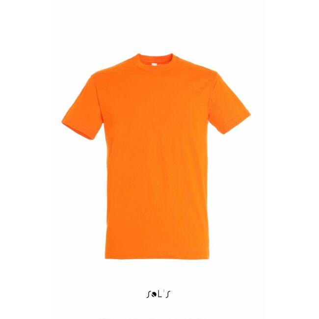 Sol's Regent Unisex környakas póló narancssárga