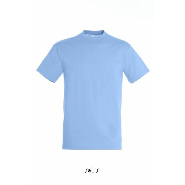 Sol's Regent Unisex környakas póló sky blue