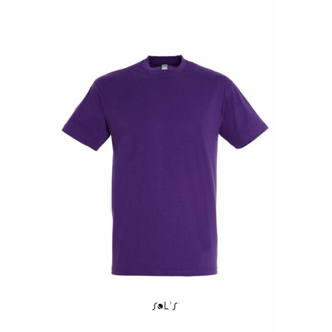 Sol's Regent Unisex környakas póló sötétlila
