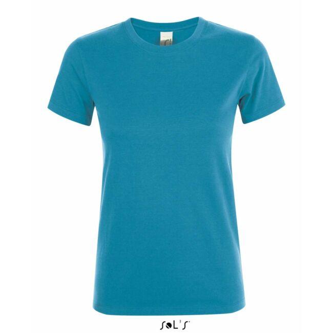 Sol's Regent Woman környakas póló aqua