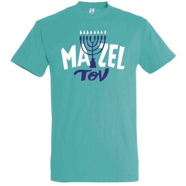 Mazel Tov feliratos vallásos póló