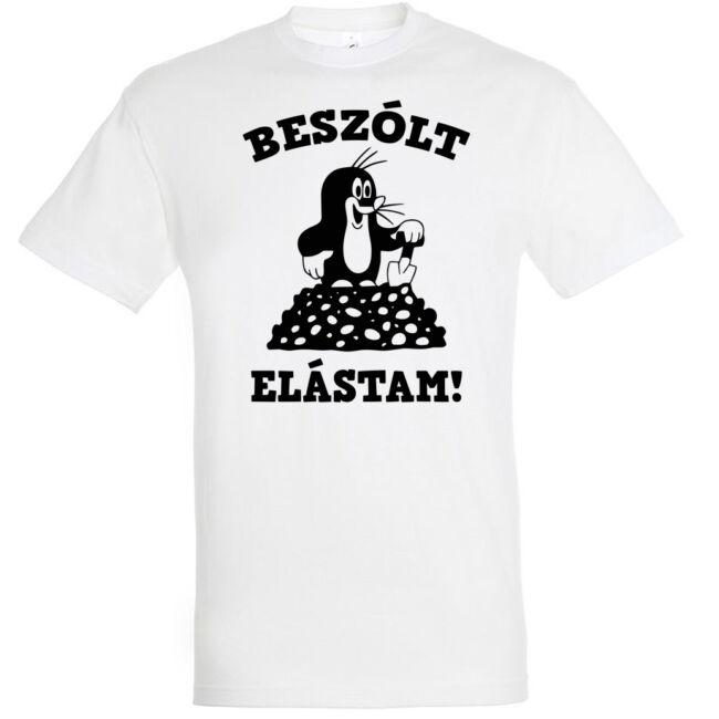 A népszerű Kisvakondot mindenki ismeri, úgy, ahogy ezt a remek pólómintát is.
