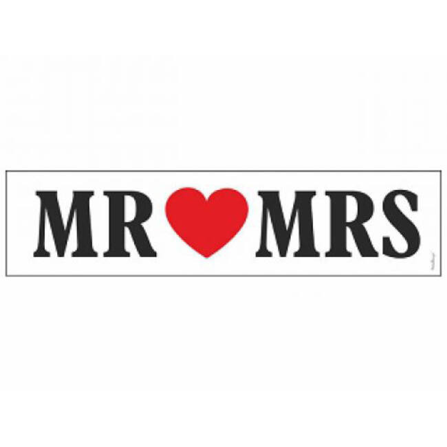 Rendszámtábla esküvőre mr mrs