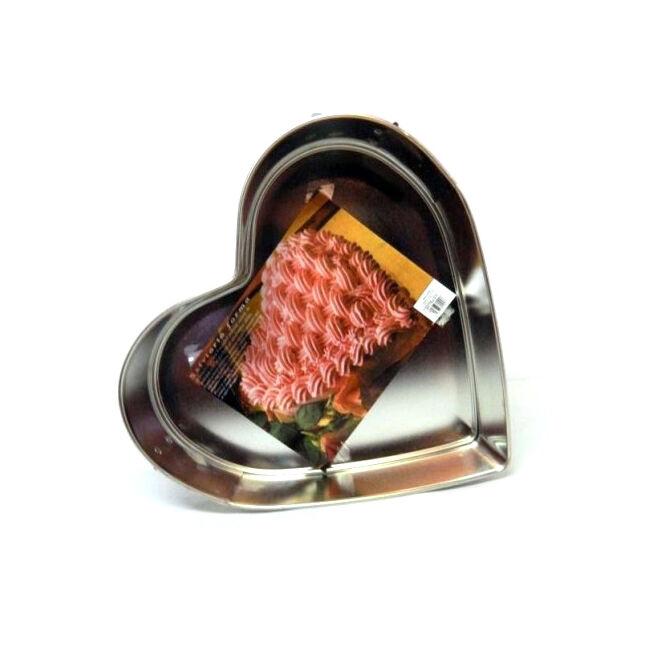 Nagy méretű szív tortaforma