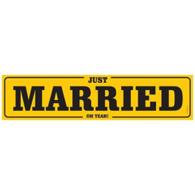 Rendszámtábla esküvőre