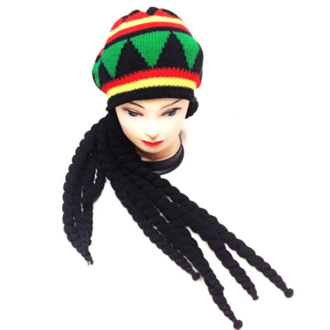Jamaicai raszta haj és sapka