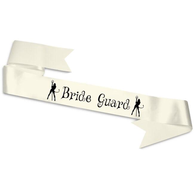 Bride Guard ördögök vállszalag ekrü
