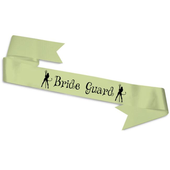 Bride Guard ördögök vállszalag zöld